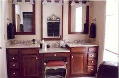 Bathroom Vanity With Makeup Vanity Attached 55 Serena Single Sink Dressing Vanity Discontinued