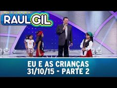 Programa Raul Gil (31/10/15) - Eu E As Crianças - Parte 2 - YouTube Raul Gil, Cable Box, Next Video, Try It Free, Live Tv, Online Work, Try Again, Youtube, Channel
