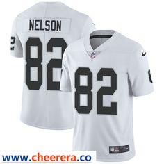 06de24093 Nike Oakland Raiders #82 Jordy Nelson White Men's Stitched NFL Vapor  Untouchable Limited Jersey