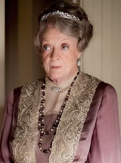 Clash: Imelda plays Lady Maud Bagshaw, who has a past with Maggie Smith's Violet Crawley [pictured] Downton Abbey Movie, Downton Abbey Fashion, Robert Crawley, Phyllis Logan, Imelda Staunton, Lady Violet, Laura Carmichael, Dowager Countess, Maggie Smith