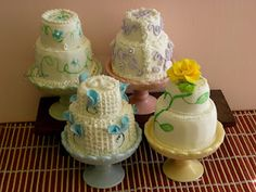 Mothers Day Mini Cakes