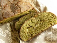 Nila Rosa: Matcha-Apple Loaf
