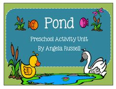 This packet is centered around a Pond theme.It includes:Pond Animal Picture CardsFive Green And Speckled Frogs: Flip Book5 Day Lesson Plan IdeasA Daily SheetArt Projects:  Duck, Fish, and A FrogHow Many?Glue And Scissor PracticeOld McDonald Had A Pond: SongMusical Frogs: Game ideaSink And Float ActivityNumber OrderAnd More!!