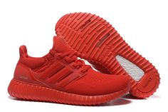 Adidas Yeezy Ultra Boost Men's Running Shoes All Red
