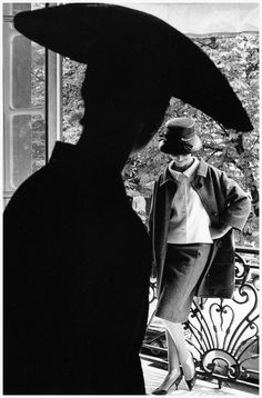 fashion photograph for jardin des modes by jean loup sieff 1961