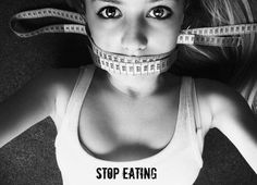Anorexia is a real thing and has been a sad result of people who lack confidence. People have starved themselves to death, in order look a certain way. This disease should not be taken lightly.