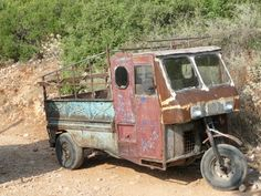 rusty runabout