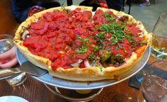 The place to get real vegan deep-dish pizza in Washington, DC #vegan #vegetarian #veganrestaurant #vegantravel #WashingtonDC #DC #veganfood #veganeats #whatveganseat #rawvegan #ethicalvegan #plantbased #meatless #veganpizza
