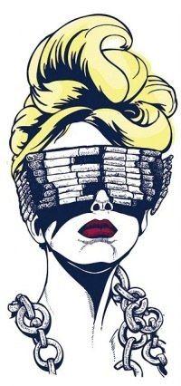 #lady #gaga #art #telephone #cigarettes #sunglasses