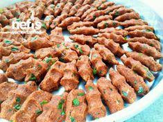 Blendır Çiğköftesi (Hazırlara Taş Çıkarır) - My CMS Breakfast Items, Turkish Recipes, Desert Recipes, Bon Appetit, Cookie Recipes, Side Dishes, Food And Drink, Appetizers, Meals