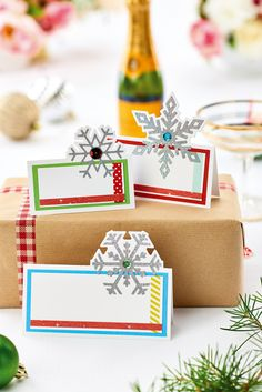 Decorate table place cards. Find out how in the December issue of Crafts Beautiful, on sale 9th November.