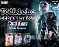 """Tödliche Schaminski-Brüder - Detektei Damjanov 4"" von Tobias Damjanov ab Dezember 2014 im bookshouse Verlag.  www.bookshouse.de/wallpapers/"