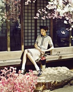 """Blooming Memories"" in Vogue Korea"