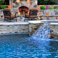 Rue Group,Inc. - mediterranean - pool - orange county - Rue Group, Inc. / Kathryn Rue, Landscape Architect