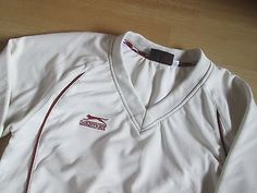Slazenger cream cricket #jumper.good condition.age #13/14 #years.,  View more on the LINK: http://www.zeppy.io/product/gb/2/351848099405/