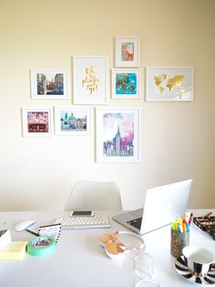 DIY: Travel Photo Wall