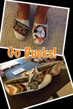 Cool Ducks shoes..