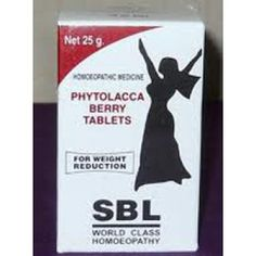 SBL Homeopathy - Phytolacca Berry 25 g for Weight Reduction