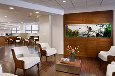 Will doctor's offices look more like this in the near future? Some say the natural design elements can help patients. http://wnpr.org/post/how-well-designed-doctors-office-could-help-patients