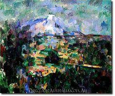 Paul Cezanne | Mont Sainte-Victoire Seen from Les Lauves - Direct Art Australia