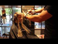 Long Layered cut - Model Paris Yves - Part 2/3 - YouTube