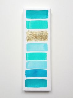 Could DIY this pretty easily with watercolor and metallic paint :)