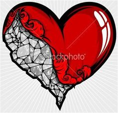 idea for heart on my sleeve tattoo, Something that seems cool would be a heart that looks like it's chiseled from stone but still has blood seeping from the crack of the stone, Even a heart of stone bleeds some times<<<Cool concept actually Full Sleeve Tattoo Design, Full Sleeve Tattoos, Heartless Tattoo, Broken Heart Art, Broken Heart Tattoo, Stone Heart, Mandala Tattoo, Arm Tattoo, Future Tattoos