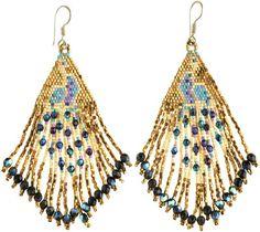 HUICHOL Fringe Earrings