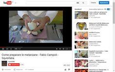 Come preparare le melanzane - Fabio Campoli - Squisitalia - YouTube