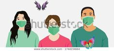 Group People Wearing Medical Masks Prevent Stock Vector (Royalty Free) 1744234664 Find Group People Wearing Medical Masks Prevent stock images in HD and millions of other royalty-free stock photos, illustrations and vectors in the Shutterstock collection.  Thousands of new, high-quality pictures added every day.<br> Masks, Vectors, Royalty Free Stock Photos, Medical, Illustrations, Group, People, Pictures, Fictional Characters