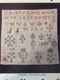 Carriage House Samplings~A Pennsylvania Motif Sampler