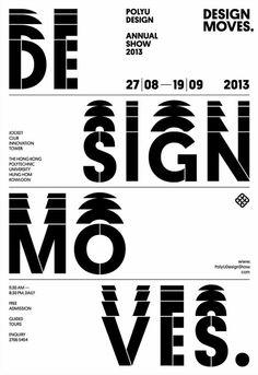 POLYU DESIGN ANNUAL SHOW 2013 - DESIGN MOVES