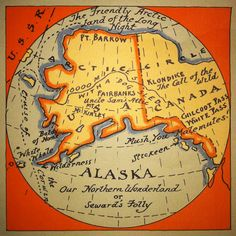 The Friendly Arctic Land of the Long Night  (again threatened by a MAJOR oil spill near Kodiak Island)