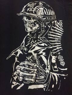Metal Mulisha Grenade Medium Short Sleeve Tee T-Shirt #MetalMulisha #GraphicTee