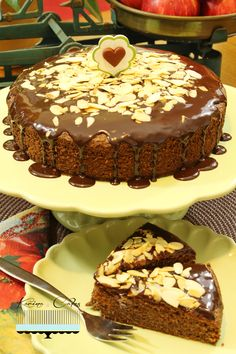 Jablková torta - Apple Cake Apple Cake, Cake Recipes, Pudding, Desserts, Food, Tailgate Desserts, Deserts, Easy Cake Recipes, Custard Pudding
