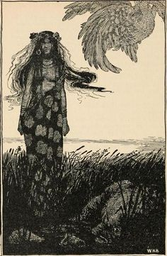 Fairy tales from Hans Christian Andersen (1899)  Illustrations by William Heath Robinson    The storks have a great many stories, which they tell their little ones, all about the bogs and the marshes.