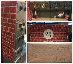 Harry Potter Inspired Theme For Work Cubicle Holidays
