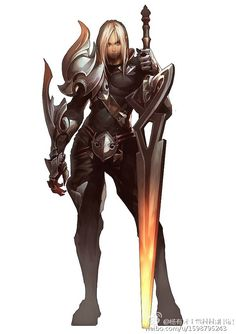 Kai Fine Art is an art website, shows painting and illustration works all over the world. Female Character Design, Character Design Inspiration, Character Concept, Character Art, Concept Art, Dark Fantasy, Fantasy Armor, Fantasy Weapons, Dnd Characters