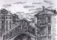 John Dilworth Art & Design: Sketches from Venice 2002