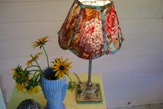 Lampshade Lady's Favorite / 4 x 8 x 6 Scallop by lampshadelady, $75.00