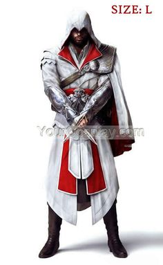Assassin's Creed III Brotherhood Ezio Costume Assassin's Creed, Assassin's Creed Cosplay Costume, Cosplay Costumes
