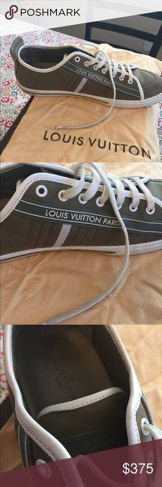 9e5640e9b32b Men s Louis Vuitton Shoes Green 9 Excellent clean condition authentic  Perfect condition With box and 2 dust bags Louis Vuitton Shoes