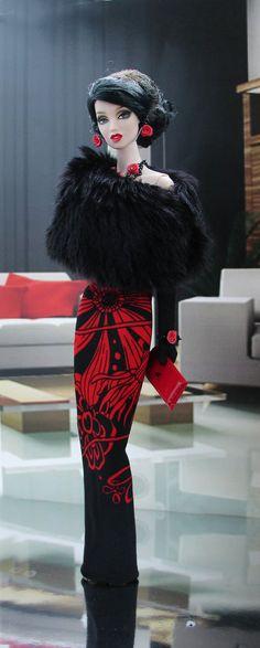 OOAK mode pour Silkstone Barbie et FR par par lovefashionbarbie