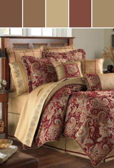 Croscill Mystique Comforter Set, Designed By Macys via Stylyze