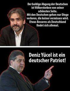 Foto Soviel zur Geisteshaltung deutscher Politiker (hier Sigmar Gabriel) Ich frage mich WARUM dann alle nach Deutschland wollen!?