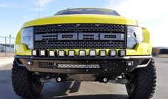2010 - 2014 Raptor Race Series-R Front Bumper Aluminum Valence