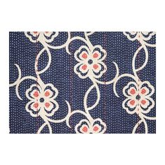 William Yeoward Carharrack Floral Cotton Curtain Fabric - Polyvore