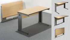 Folding Office Desk - Home Furniture Design Large Furniture, Home Decor Furniture, Office Furniture, Furniture Design, Modern Furniture, Space Saving Computer Desk, Office Table And Chairs, Folding Desk, Folding Tables