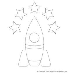 Use with the straw rocket. Pin Cartoon Rocket Coloring