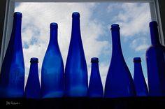 I love blue bottles